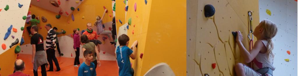 Klettern Kinder